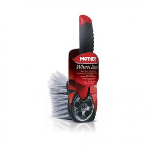 brush for car wheel cleaning